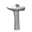 barclay 3-234bl devon vitreous china pedestal lavatory