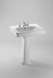 Toto LPT530.4N Pedestal Lavatory Sink from the Promenade Collection
