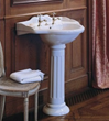 herbeau 0311 carla ceramic washbasin for pedestal sink