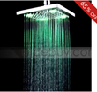 10 Inch d Brass Square LED Rainfall Shower Head