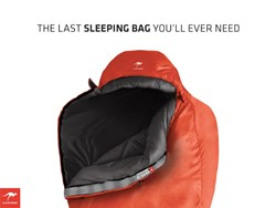 The first fully customizable sleeping bag by Kammok for camping, backpacking and fun.