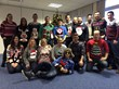 The Creditplus Car Finance team showing off their Christmas Jumpers