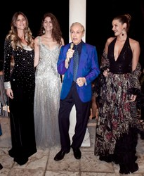 Renato Balestra, fashion, glamour is back