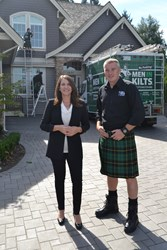 Men In Kilts CEO Tressa Wood and Founder Nicholas Brand are excited for what 2014 has in store.