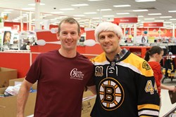 gentle GIANT MOVING company boston bruins toy drive