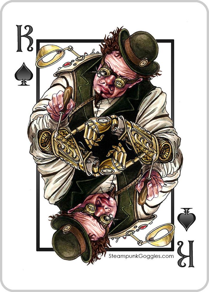 Steampunk King of Spades - Kickstarter