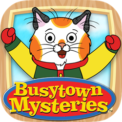 Busytown Mysteries App Icon by Loud Crow Interactive / Busytown Mysteries ™ and © DHX Cookie Jar