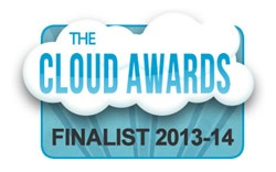 HRBoss names as finalist in the 2013-14 Cloud Awards