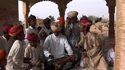 The caste system was abolished in 1947 In India, yet it still persists. In the Thar Desert on the Pakistan border, low caste Merasi and Kalbeliya musicians have performed in village ceremonies and royal courts for millennia, but they are not allowed to se