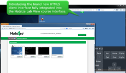 Hatsize 4.1 Virtual Training Lab with HTML5 Client