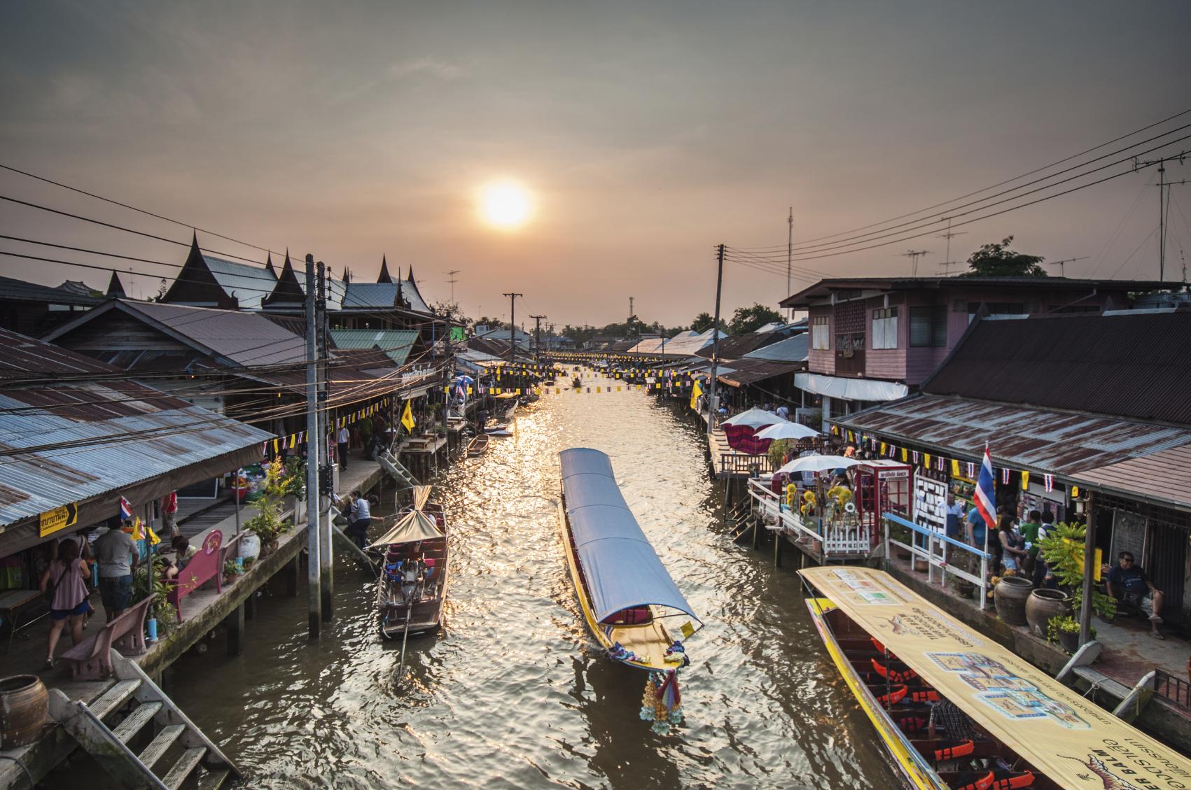 Floating Market Bangkok Thailand Tour