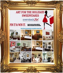 overstockArt 'Art for the Holidays' Pinterest Competition