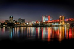 A photo of downtown Shreveport