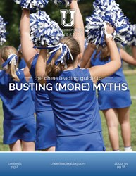 Cheerleading Blog University releases a new eBook on cheer myths