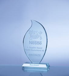 Nordson Bronze Supplier Award from Nestlé