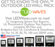 New UL Test Reports for the Owl™ Outdoor LED Wall Pack Series