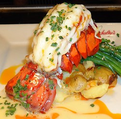 Paleo diet nutritional facts and lobster