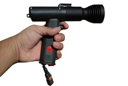 The Magnalight HL-85-3W1-RED Red LED Pistol Grip Spotlight is an extremely rugged and effective Red LED spotlight