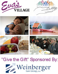 Weinberger Law Group Sponsors Give the Gift Project for Eva's Village in New Jersey