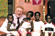 Dr. James W. Jackson, Founder of Project C.U.R.E., in Africa