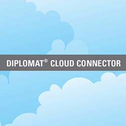 Cloud image with Diplomat Cloud Connector