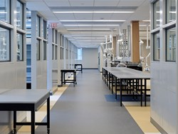 Hamilton Scientific steel casework and fume hoods installed at the new Consolidated Forensic laboratory in Washington, DC