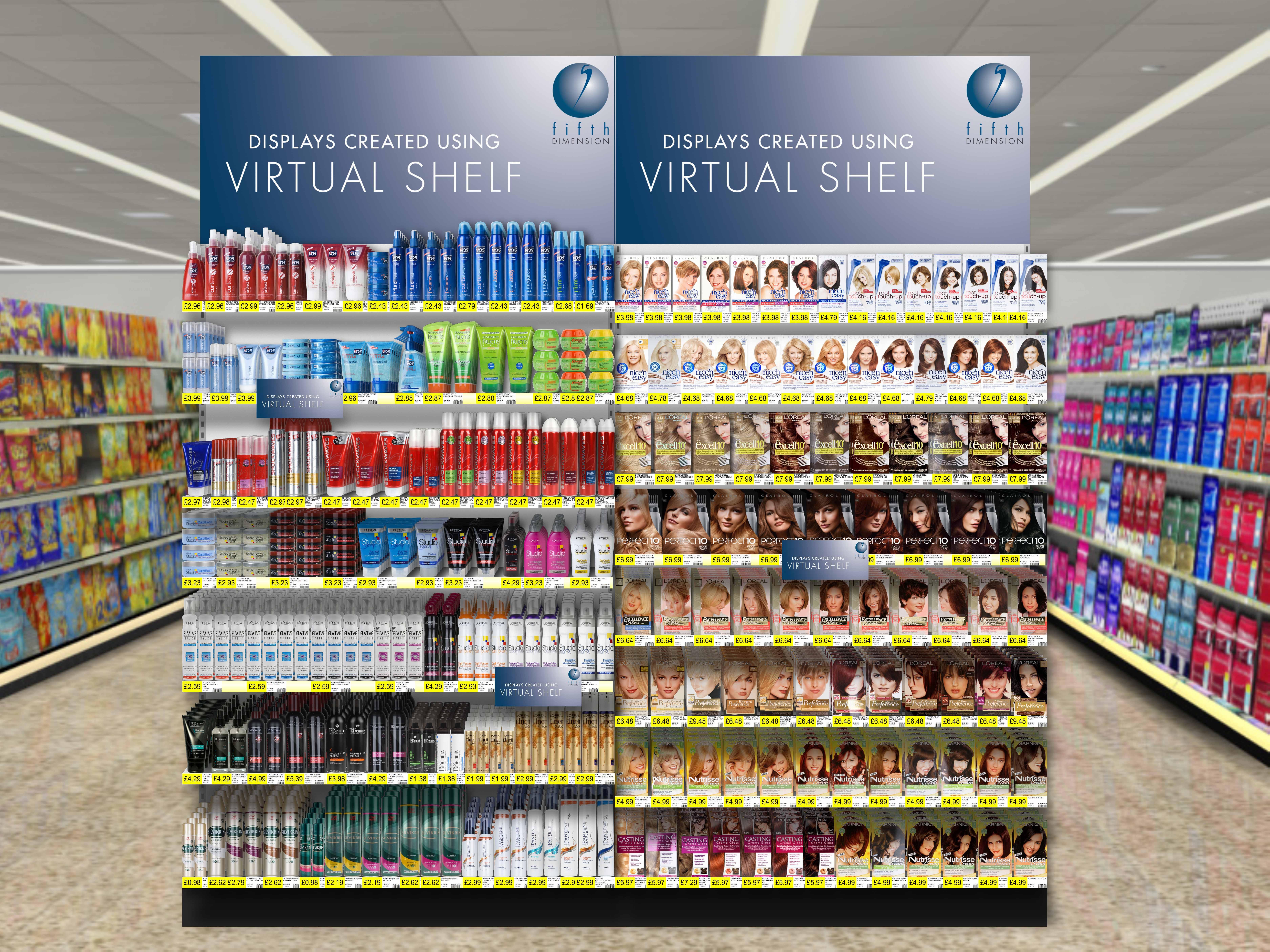 Fifth Dimension Launches Virtual Shelf Version 5