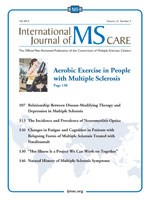 The International Journal of MS Care (IJMSC)—the official peer-reviewed publication of the Consortium of Multiple Sclerosis Centers (CMSC)—has been accepted for inclusion in PubMed Central (PMC)