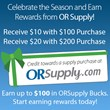 ORSupply.com Launches New Customer Rewards Program