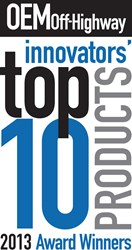 OEM Off-Highway magazine's Top 10 Products of 2013