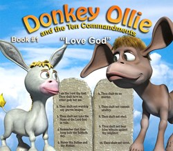 Donkey Ollie and The Ten Commandments Christian Childrens Cartoon
