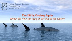 New Tax Code for 2014 Tax Filing, Horizon Business Solutions, Columbus Ohio
