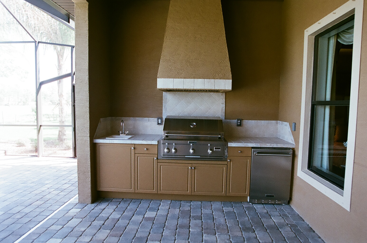 Seaboard Shown In Sandshade Color For Beautiful, Durable Outdoor Kitchen  Cabinets ...