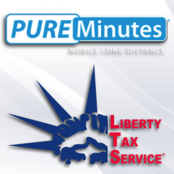 Pure Minutes and Liberty Tax Partnership