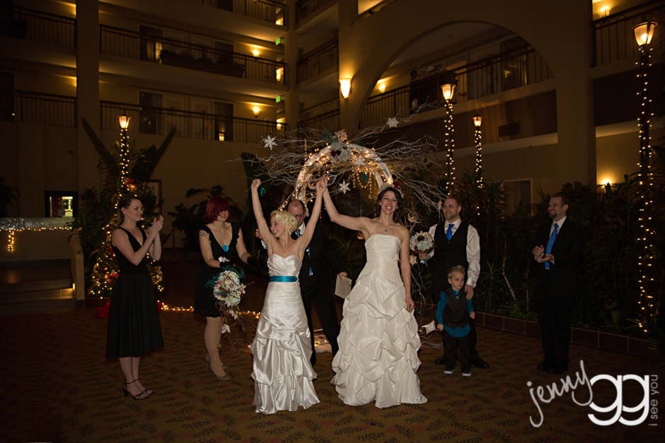 Embassy Suites Seattle Bellevue Hotel Celebrates Pride Wedding For
