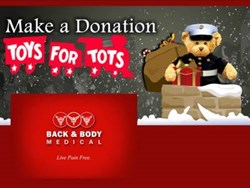 NYC Chiropractor - Back and Body Medical - Toys for Tots