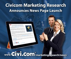 Civicom Marketing Research Announces News Page