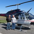 Quantum Spatial Partners with Hawkeye Helicopter for LiDAR Collection