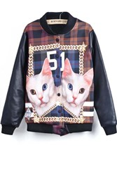Graphic Jacket, Cat  Jacket, LifeLike Jacket