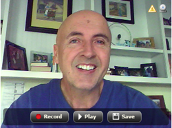 Free webcam recording tool to add personal video messages at ecardgiftnotice
