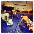 Lyoto Machida training with his DeRose Method teacher Fabiano Gomes.