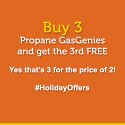 Propane GasGenie Holiday Offer