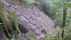 Stone Wall structure discovered in the Llanganates - Ecuador