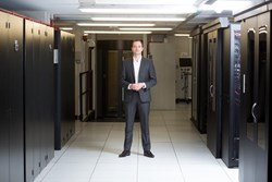 C4L Chairman in Bournemouth Data Centre