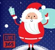 Live365 Holiday Logo