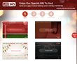 Live365 Holiday Greeting Card Steps