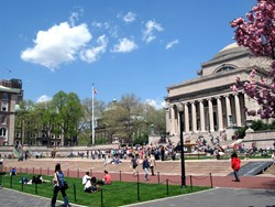 This is really a photo of Columbia University