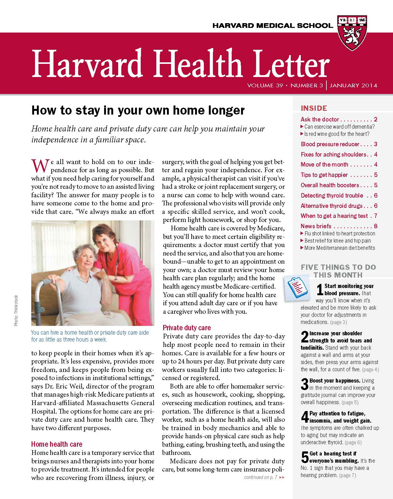 Tips To Help Seniors Stay In Their Own Homes Longer From The