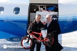 PlaneSense, Inc. Pilatus PC-12 Toys for Tots