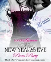 New Years Eve Winter Prom Party at The Refinery